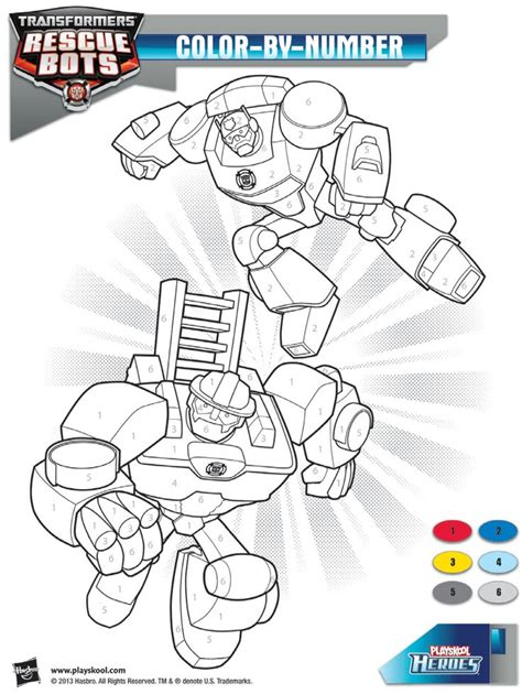 Transformers Rescue Bots Coloring Pages Printable Rescue Bots Coloring Pages