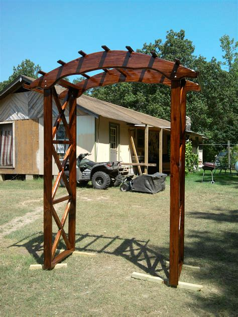 Wedding Arch Wooden by White Rustic X Wedding Arch Diy Projects