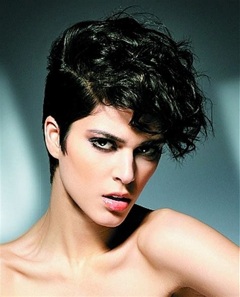 super short haircuts curly hair super short curly hairstyles for women