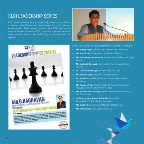 Xlri Executive Mba Placements by Xlri Jamshedpur Placement Brochure 2013 General