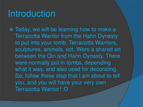 how to make terracotta how to make a terracotta warrior