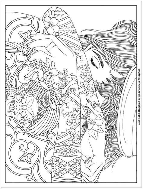 tattoo coloring pages 8 design adults coloring pages realistic coloring