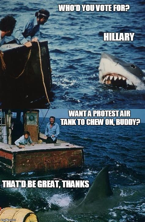 Jaws Meme - overly dramatic liberal jaws is overly dramatic imgflip