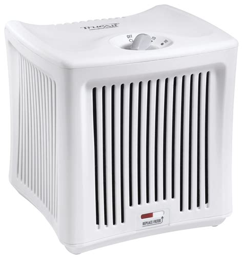 hamilton trueair 100 sq ft room air purifier white 04532gm best buy