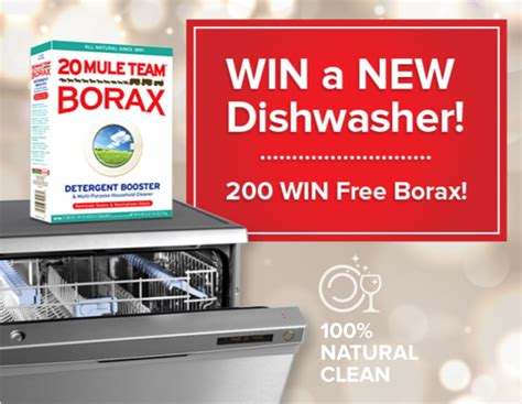 Win 1000 Target Gift Card 2015 - 20 mule team borax let your kitchen shine sweepstakes