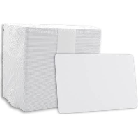 Pvc Id Card Blank blank pvc cards white 0 030 quot ultra card cr80 030