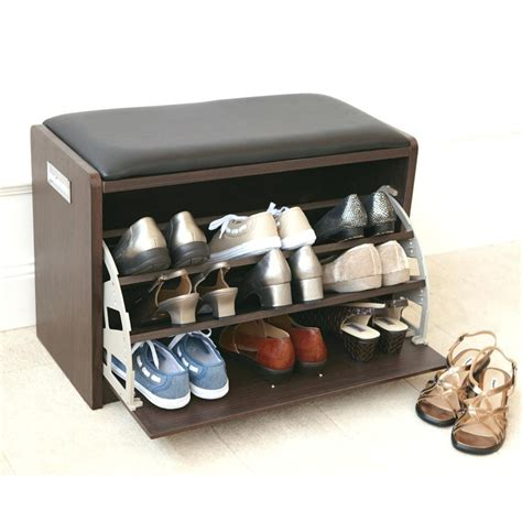 small bench with shoe storage small bench with shoe storage