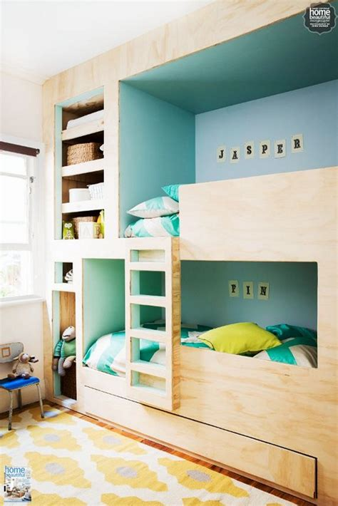 5 beds in one room 51 built in bunk beds ideas for sweet home gallery gallery