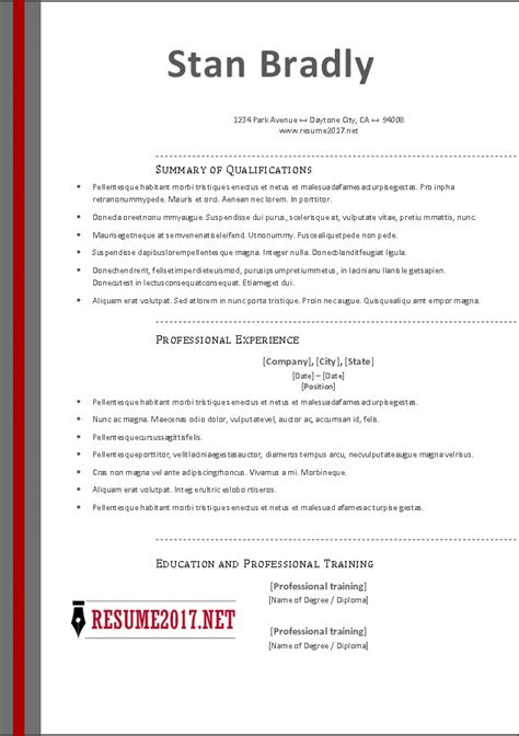sample resumes 2016 examples of high school student resumes
