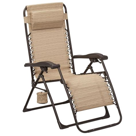 zero chaise lounge hton bay mix and match zero gravity sling outdoor