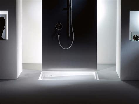 piatto doccia incassato piatto doccia incassato rettangolare in acciaio duschplan