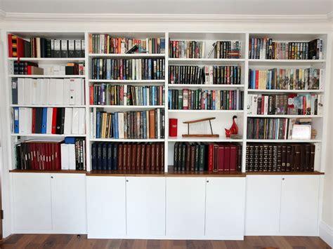 bespoke bookshelves 15 inspirations of fitted book shelves