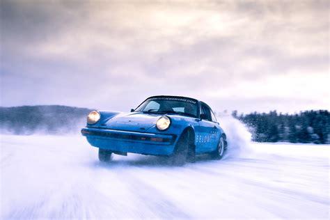 porsche snow cars
