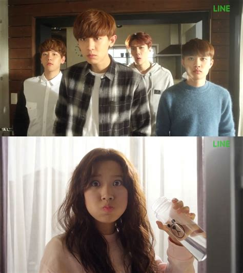 gambar film exo next door breaking exo s baekhyun and sehun been caught kissing at