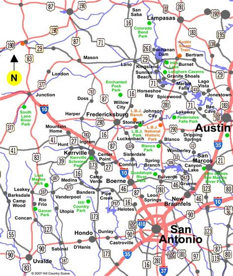 map of hill country texas 1000 images about texas visit on lakes trail of lights and the oasis