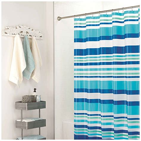 big lots shower curtains view living colors peva vinyl striped shower curtains