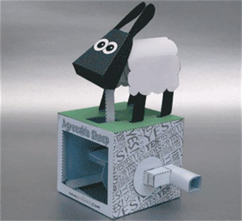 Papercraft Sheep - agreeable sheep papercraft papercraft paradise