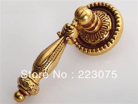 Luxury Door Knobs by Zinc Alloy Gold Handle Decorative Kitchen Cabinet