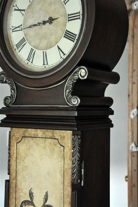 chalk paint grandfather clock 590 best images about painted antiques on milk