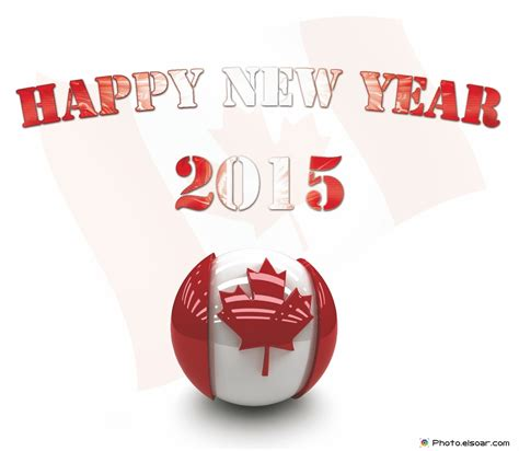 happy new year 2015 canada bonne ann 233 e