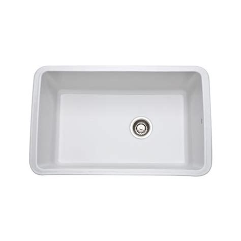 Rohl Kitchen Sinks Rohl 6307 White 31 Allia Undermount Fireclay Kitchen Sink Ebay