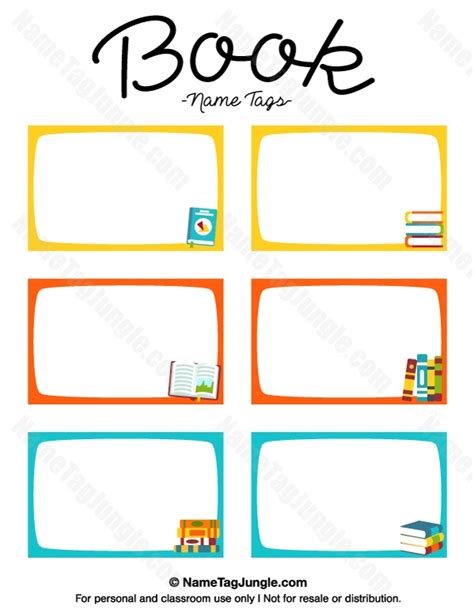 templates with books name labels for school books templates the best template