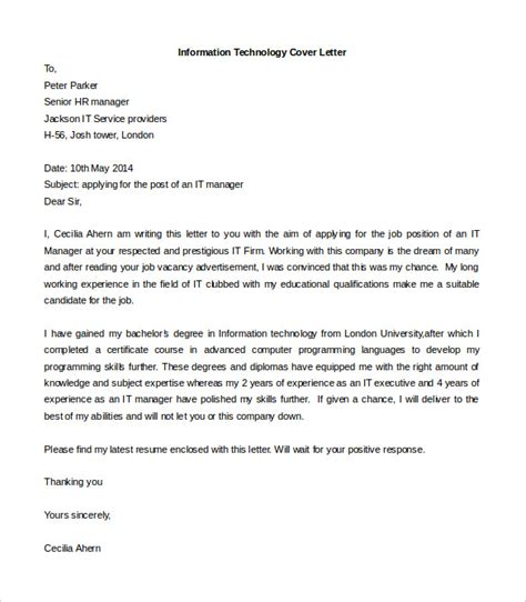 Free Cover Letter Template by Free Cover Letter Template 52 Free Word Pdf Documents Free Premium Templates