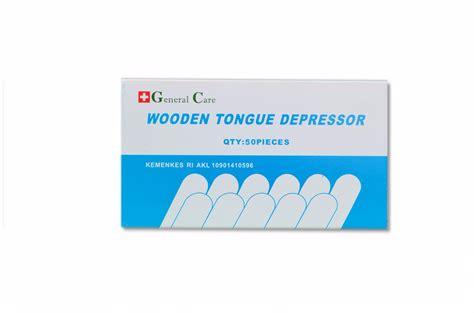 Tongue Spatel Kayu Isi 50 Pcs Wooden Tongue Depressor Berkualitas general care spatel kayu wooden tongue ekomed