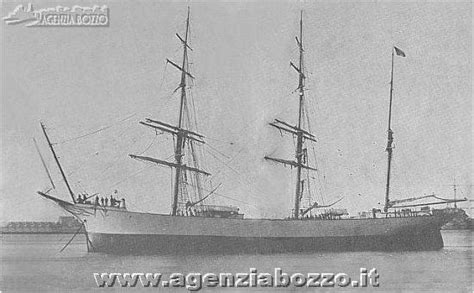 pacifico porto garibaldi agenzia bozzo vecchie vele giuseppe 1901 brigantino