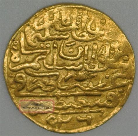 ottoman empire gold coins ottoman empire gold sultani altin coin selim ii ibn