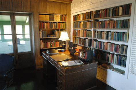 Study L File Study In Tao House Eugene O Neill Nat L Historic
