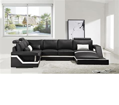 divani furniture dreamfurniture divani casa t271 modern leather