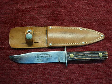 utica cutlery vintage utica cutlery co kutmaster fixed blade knife w