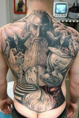 wizard tattoo pics