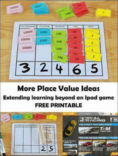 free printable lesson plans place value printable place value cards lesson plans free games and