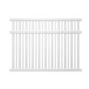home depot fence pickets veranda pro series 6 ft h x 8 ft w vinyl lafayette
