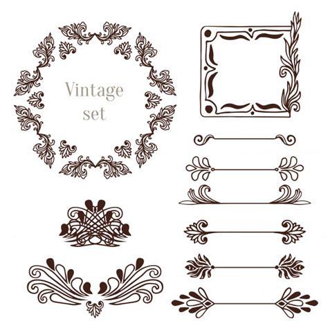 Cornici Vintage by Cornici Vintage E Elementi Di Bordo Collezione Di