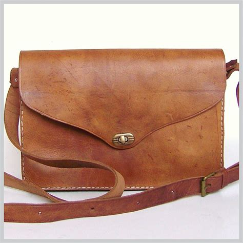 Leather Purse Handmade - leather messenger bag handmade leather bags handmade