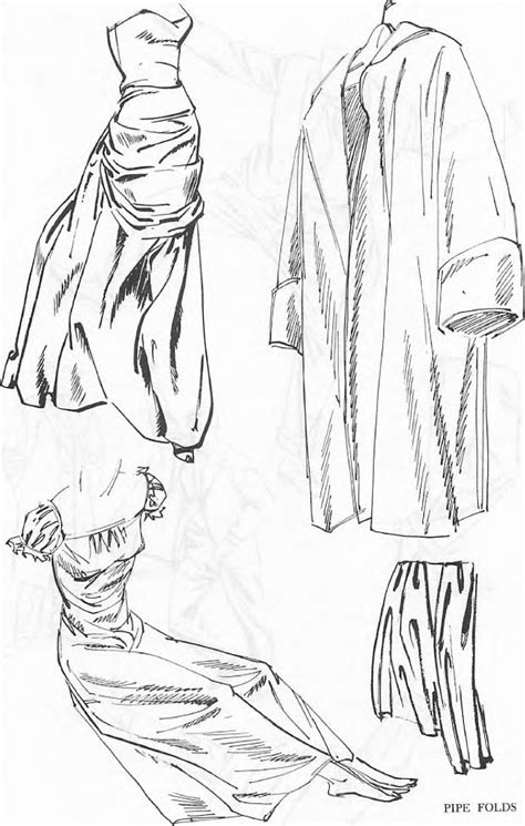 drawing drapery folds drawing clothing folds drapery wrinkles with folding and
