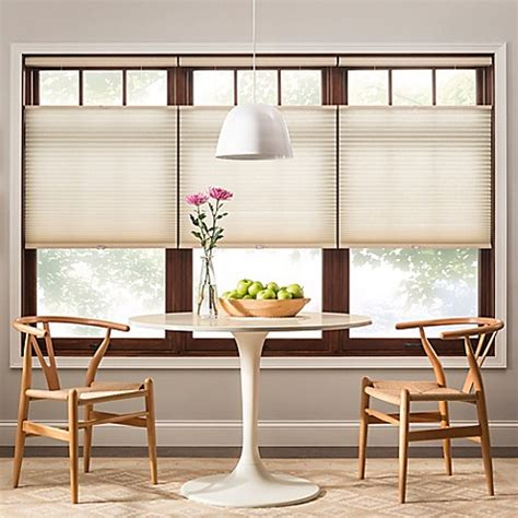 top bottom up shades real simple 174 cordless top bottom up light filtering cellular 72 inch shade bed bath beyond