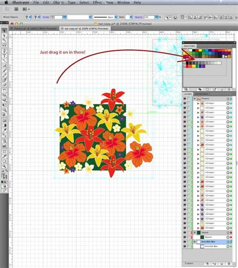 tutorial illustrator simple create your own pattern swatch an easy 5 step illustrator