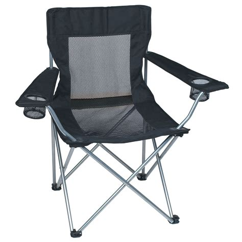 Collapsible Chair | 7052 mesh folding chair with carrying bag