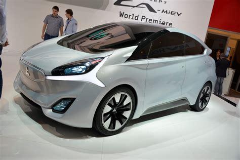 mitsubishi electric car mitsubishi gr hev hybrid concept debuts in geneva