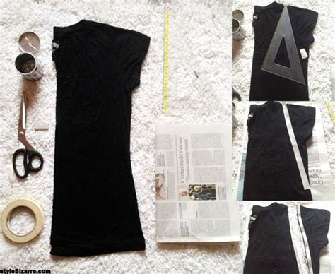 shirt cutting method images diy cut up t shirt outfit style on vega