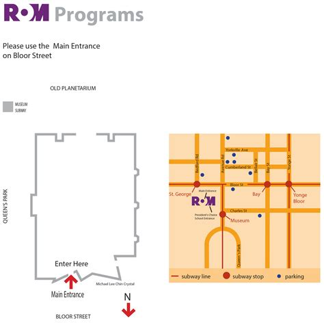 construction layout jobs ontario main entrance royal ontario museum