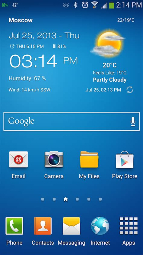 android weather widget weather clock widget android android apps on play