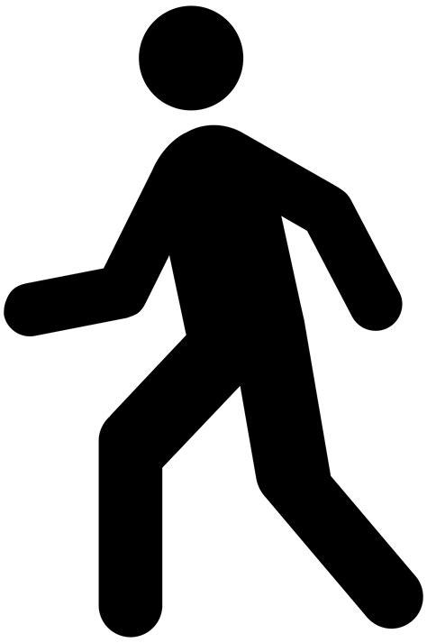 clipart donne person walking clip cliparts co