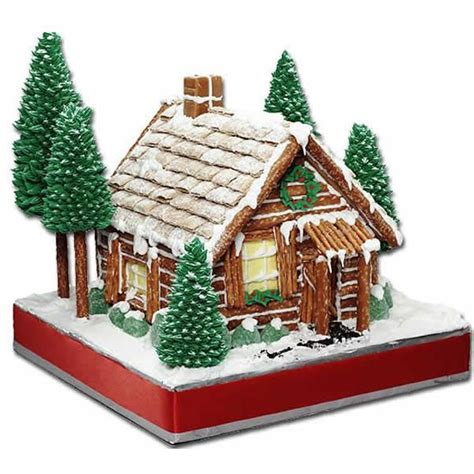 gingerbread log cabin template rustic log cabin gingerbread house using pretzels and
