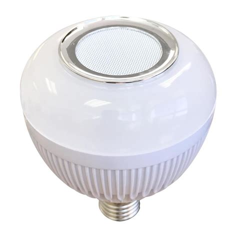 bluetooth light bulb speaker lowes shop blue sky wireless 65 w equivalent dimmable warm white