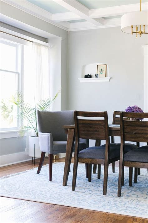 craftsman house makeover dining room makeover dining